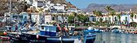 harbour Puerto de Mogán Lanzarote